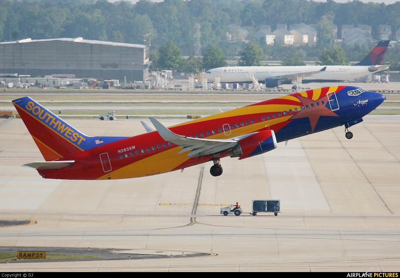 Southwest Airlines N383SW aircraft at Atlanta - Hartsfield-Jackson Intl