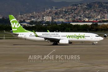 PR-GTU - WebJet Linhas Aéreas Boeing 737-800