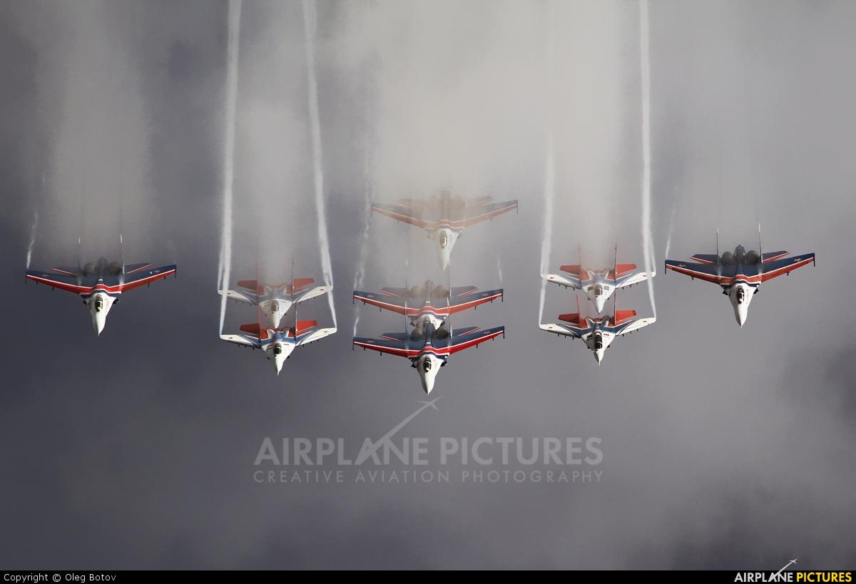 "Russia - Air Force ""Strizhi"" 10 aircraft at Ramenskoye - Zhukovsky"