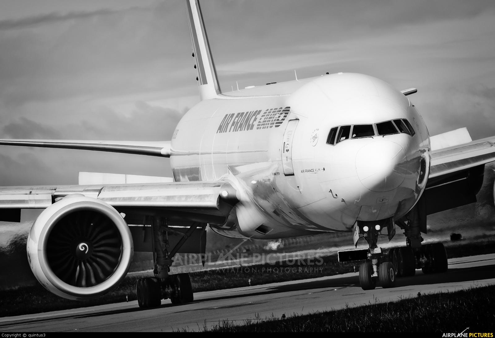 Air France Cargo F-GUOB aircraft at Dublin