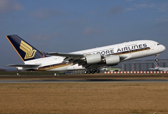 F-WWST - Singapore Airlines Airbus A380