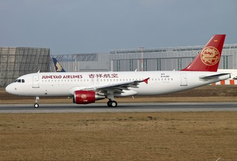D-AUBG - Juneyao Airlines Airbus A320