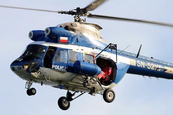 SN-52XP - Poland - Police PZL Kania