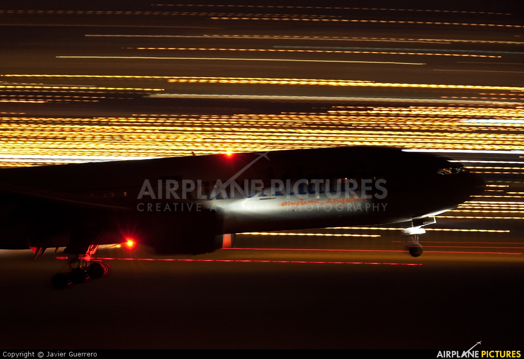 Euro Atlantic Airways CS-TFM aircraft at Madrid - Barajas