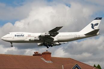 EP-IAG - Iran Air Boeing 747-200