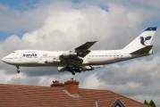 EP-IAG - Iran Air Boeing 747-200 aircraft