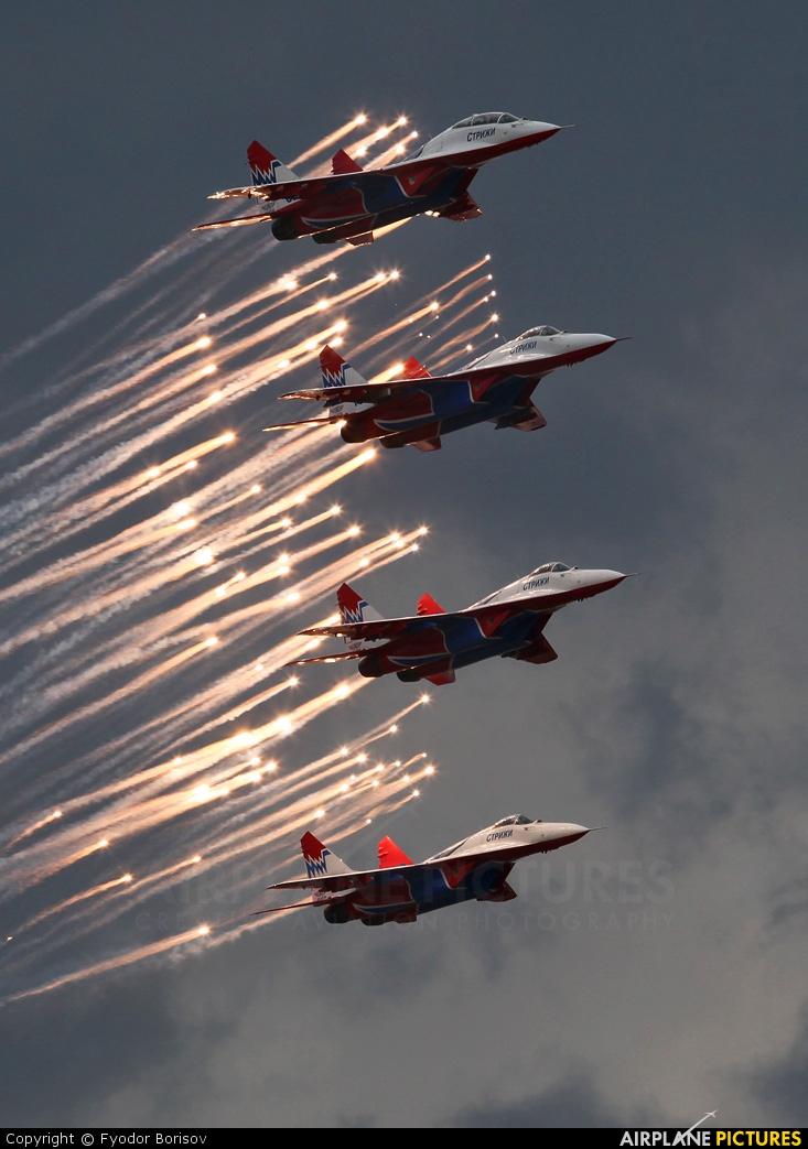 "Russia - Air Force ""Strizhi"" 04 aircraft at Ramenskoye - Zhukovsky"