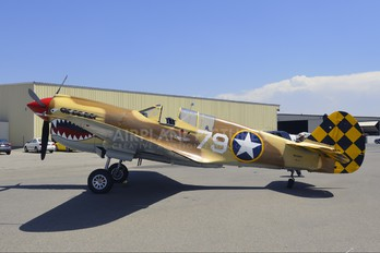 N85104 - Air Museum Chino Curtiss P-40N Warhawk