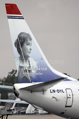 LN-DYL - Norwegian Air Shuttle Boeing 737-800