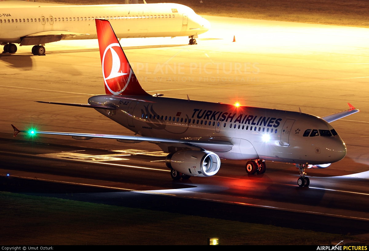 Turkish Airlines TC-JLZ aircraft at Istanbul - Ataturk