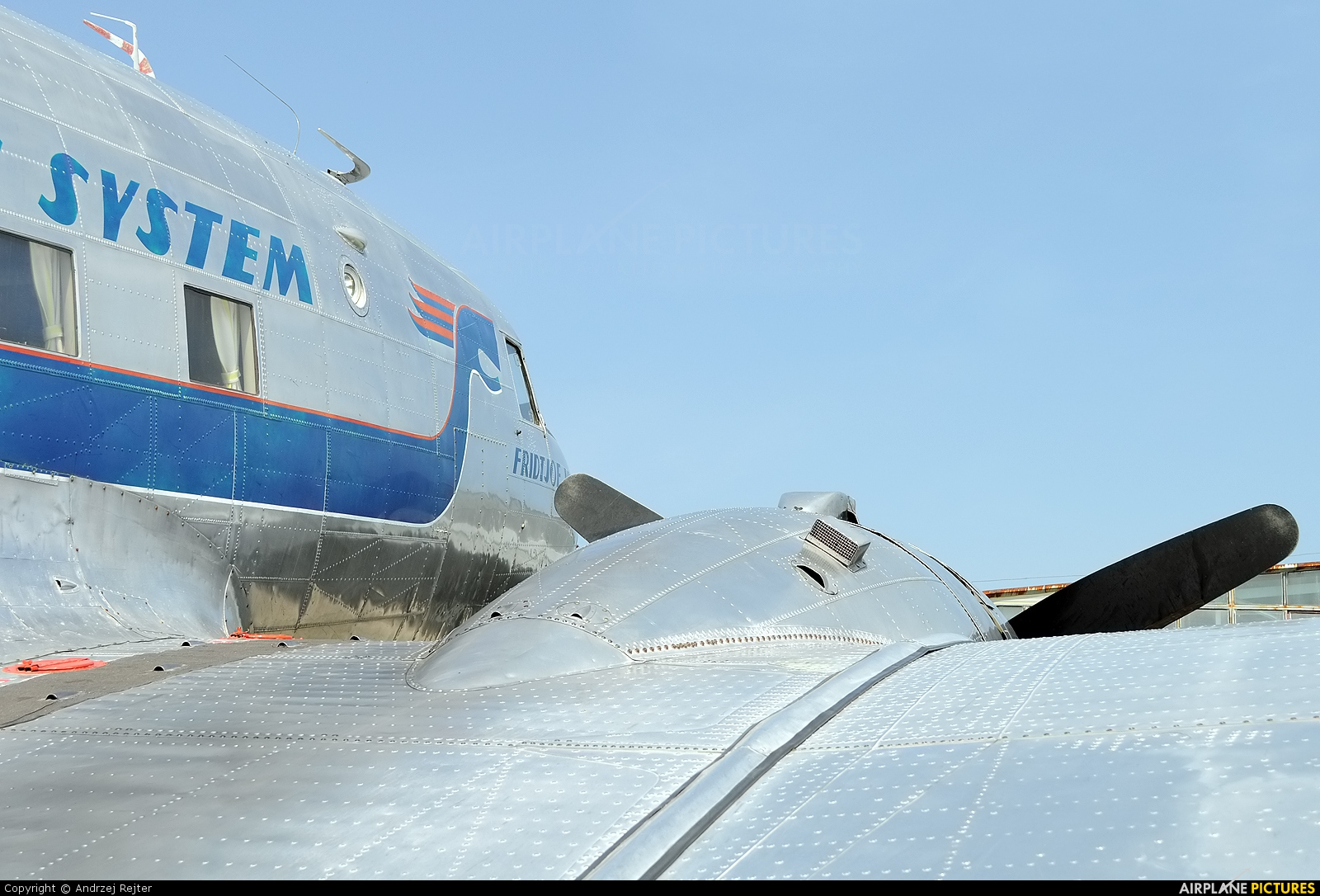 SAS - Flygande Veteraner SE-CFP aircraft at Kętrzyn - Wilamowo