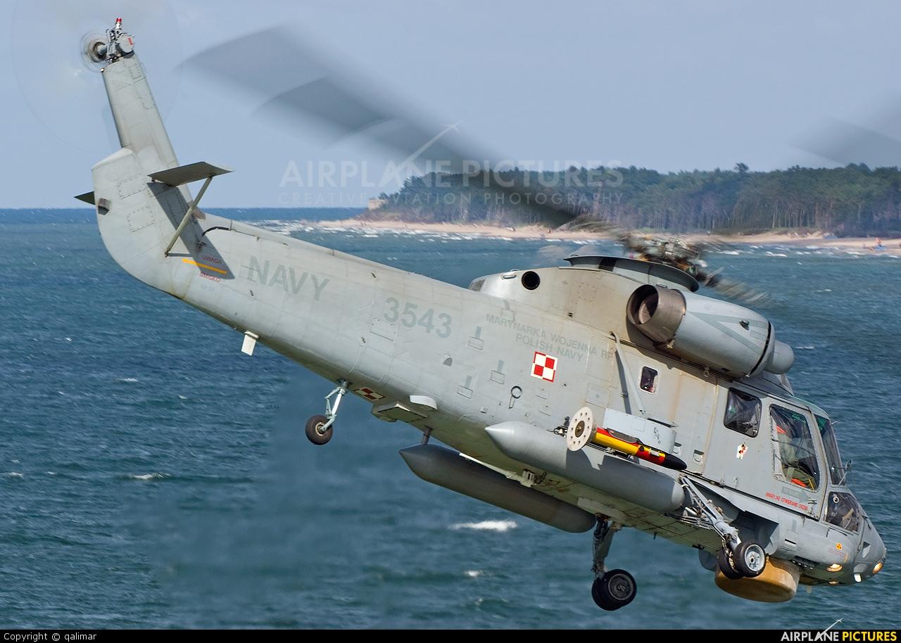 Poland - Navy 3543 aircraft at Darłowo