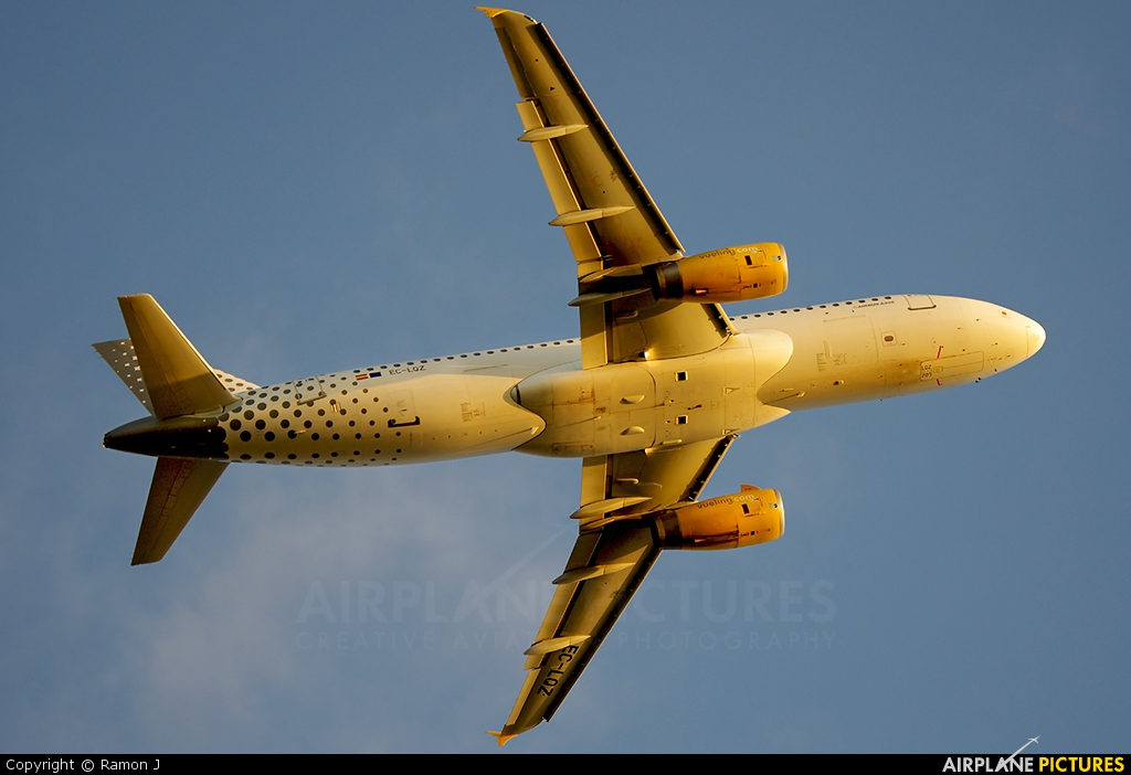 Vueling Airlines EC-LQZ aircraft at Barcelona - El Prat