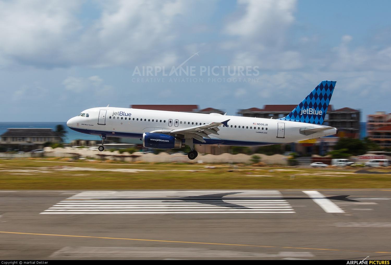 JetBlue Airways N506JB aircraft at Sint Maarten - Princess Juliana Intl