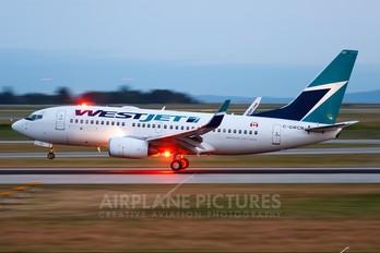 C-GWCN - WestJet Airlines Boeing 737-700