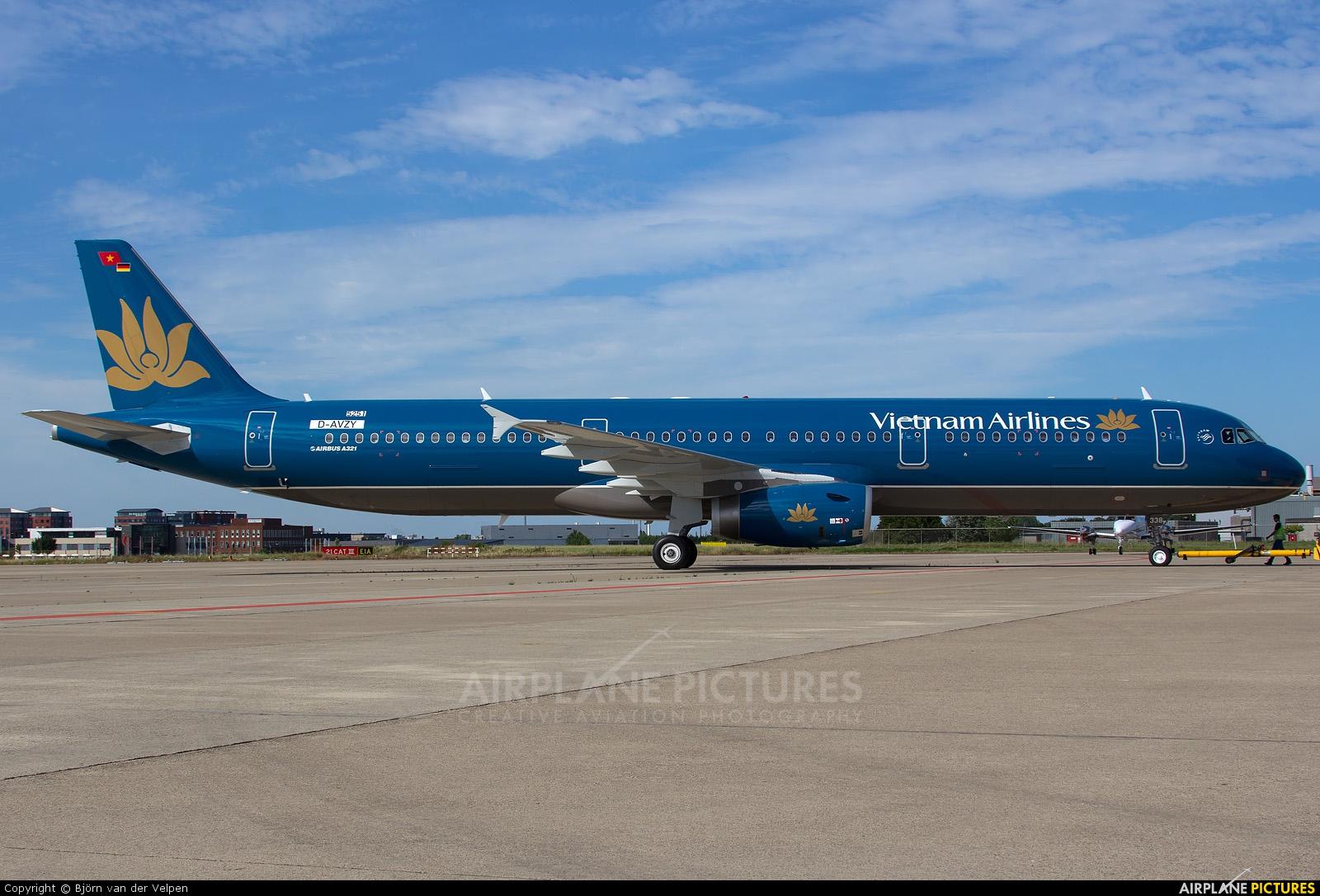 Vietnam Airlines D-AVZY aircraft at Maastricht - Aachen