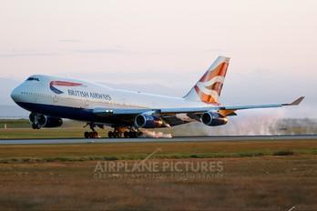 G-BNLX - British Airways Boeing 747-400