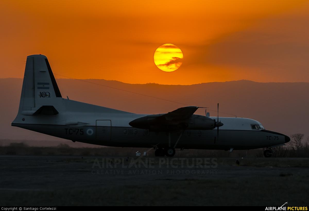 Argentina - Air Force TC-75 aircraft at Cordoba - Escuela de Aviación Militar