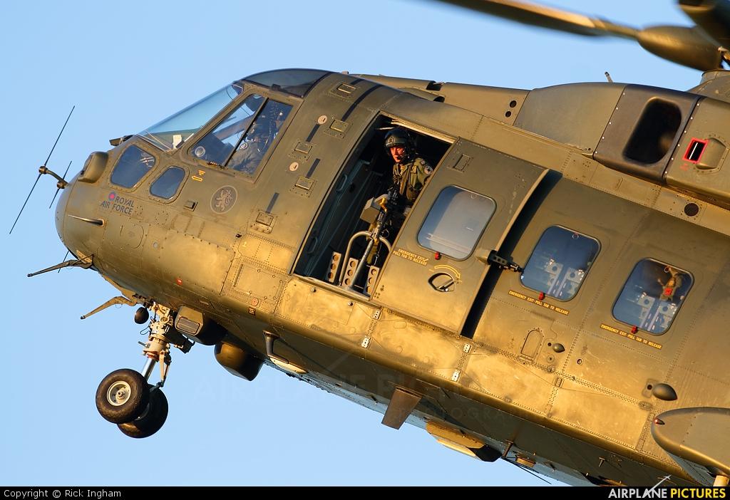 Royal Air Force ZJ135 aircraft at Salisbury Plain SPTA