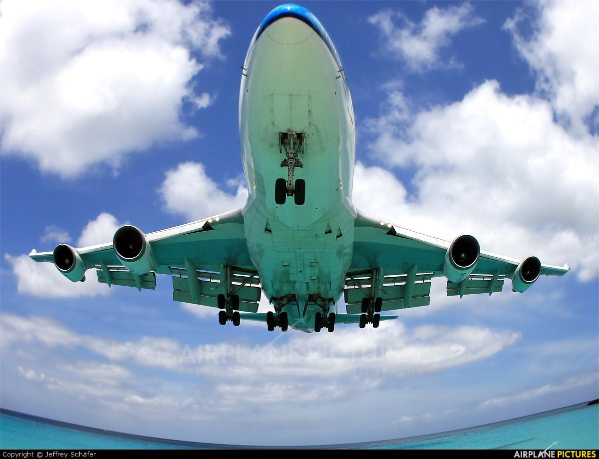 KLM - aircraft at Sint Maarten - Princess Juliana Intl