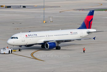 N331NW - Delta Air Lines Airbus A320
