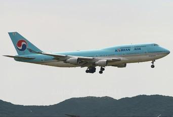 HL7491 - Korean Air Boeing 747-400
