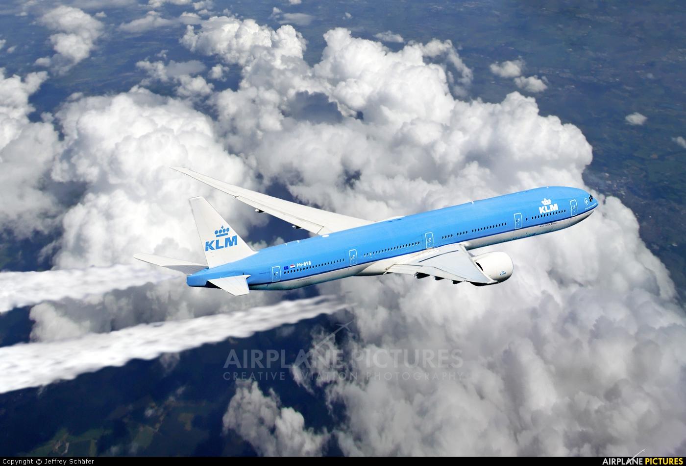 KLM PH-BVB aircraft at In Flight - International