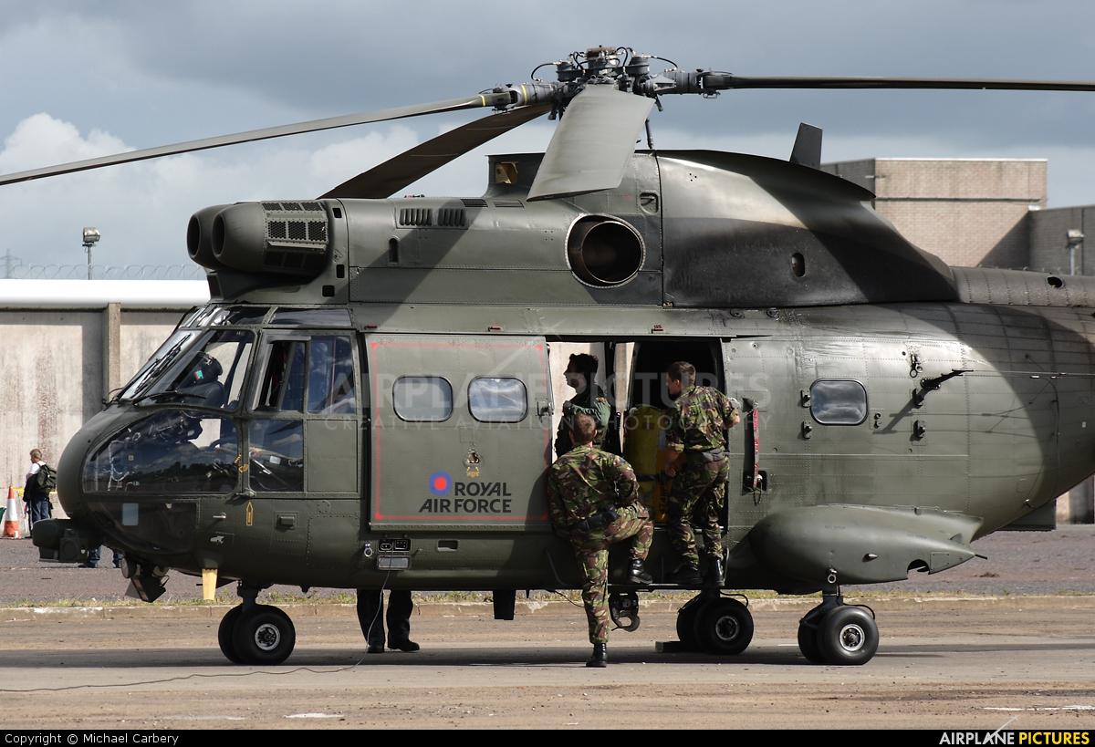 Royal Air Force XW220 aircraft at Long Kesh