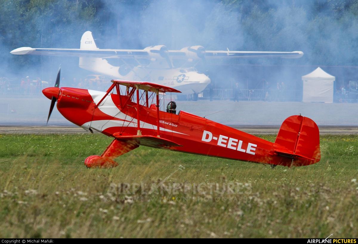 Private D-EELE aircraft at Plzeň - Líně