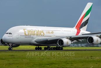 A6-EDQ - Emirates Airlines Airbus A380