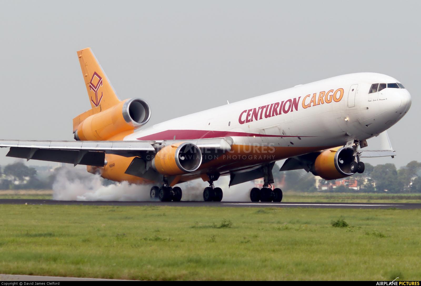 Centurion Air Cargo N984AR aircraft at Amsterdam - Schiphol