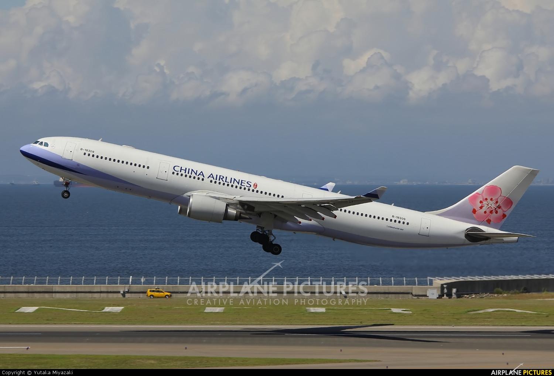 China Airlines B-18309 aircraft at Chubu Centrair Intl