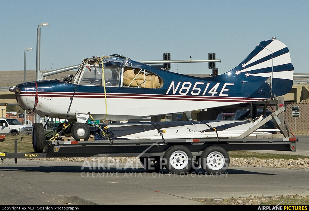 Private N8514E aircraft at Off Airport - Wyoming