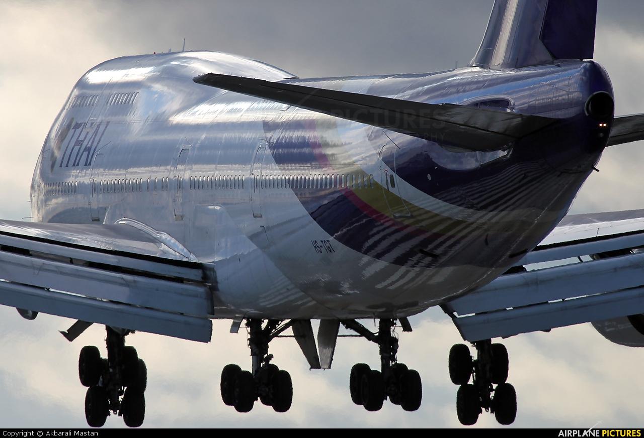 Thai Airways HS-TGT aircraft at London - Heathrow