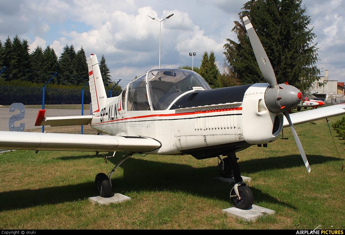 Aeroklub Orląt SP-ALN aircraft at Dęblin - Museum of Polish Air Force