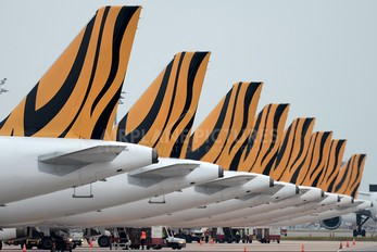 9V-TAZ - Tiger Airways Airbus A320