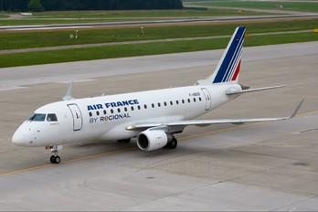 F-HBXB - Air France - Regional Embraer ERJ-170 (170-100)