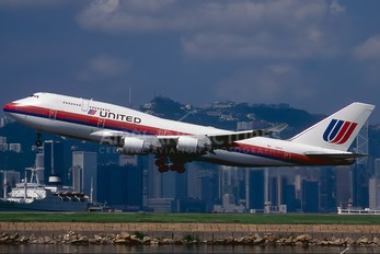 N182UA - United Airlines Boeing 747-400