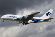 9M-MNA - Malaysia Airlines Airbus A380 aircraft