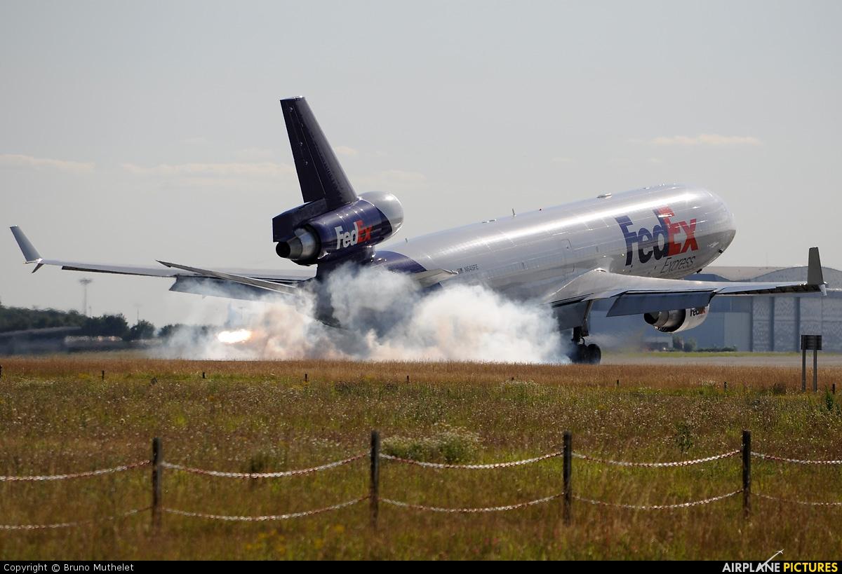 FedEx Federal Express N645FE aircraft at Paris - Charles de Gaulle