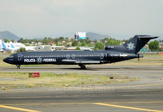 XC-MPF - Mexico - Police Boeing 727-200 (Adv)