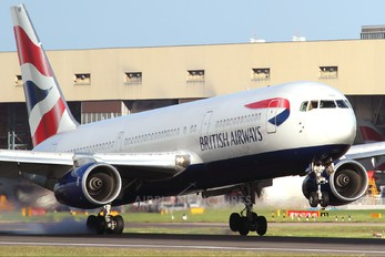 G-BZHB - British Airways Boeing 767-300