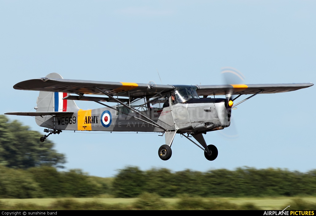 Private G-ASAJ aircraft at Waddington