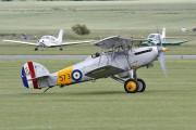 G-BWWK - Historic Aircraft Collection Hawker Nimrod I aircraft