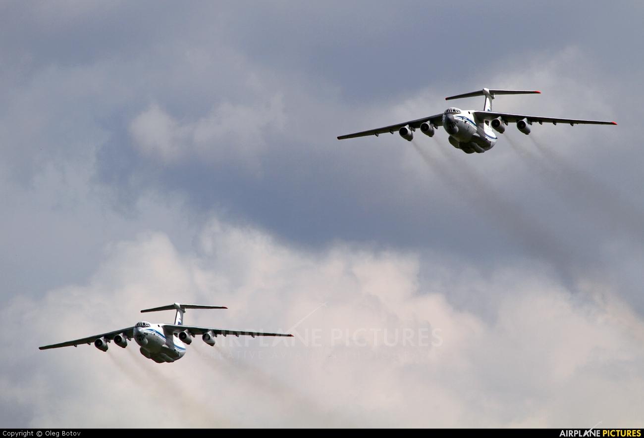 Russia - Air Force RA-76547 aircraft at Ramenskoye - Zhukovsky