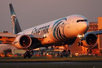 SU-GDR - Egyptair Boeing 777-300