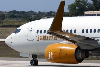 OY-JTY - Jet Time Boeing 737-700