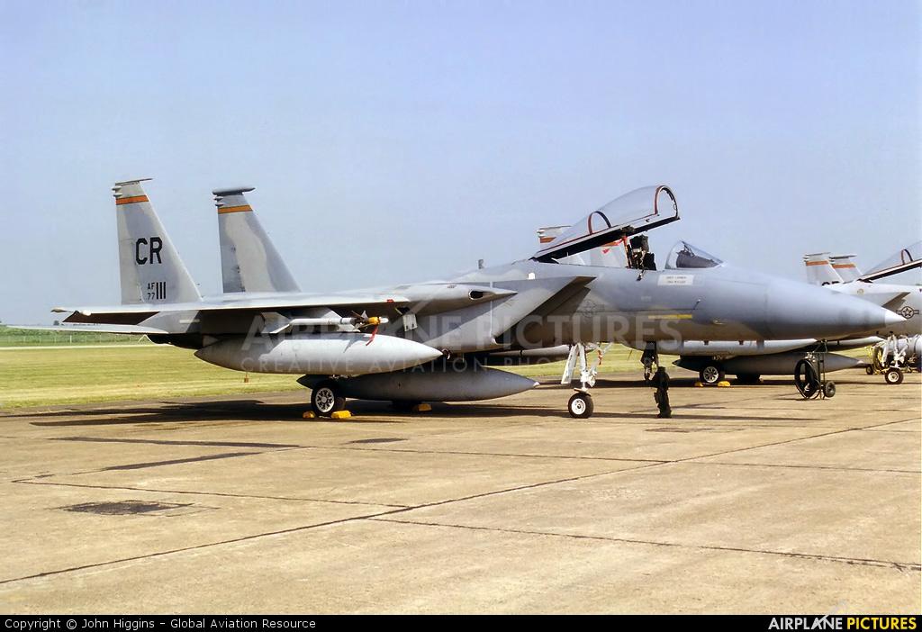 USA - Air Force 77-0111 aircraft at Lakenheath