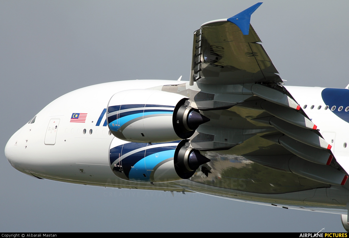 Malaysia Airlines 9M-MNB aircraft at London - Heathrow