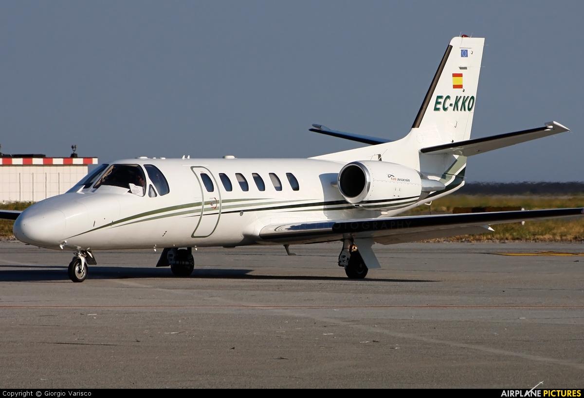 TAS - Transportes Aéreos del Sur EC-KKO aircraft at Genoa - Sestri